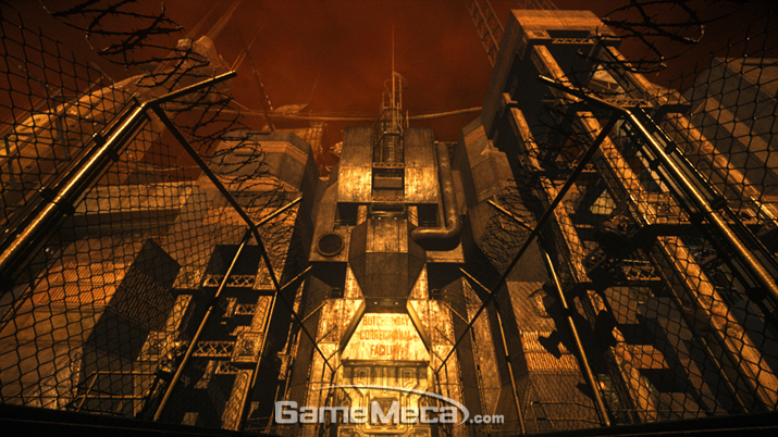 탈옥 덕후 '리딕'의 도전은 사막 요새에서도 계속된다 (사진출처: 영상 갈무리)