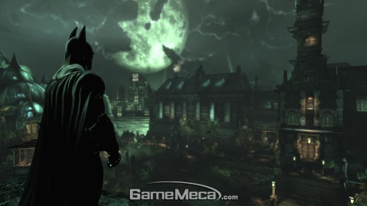 이곳의 가장 큰 공포는 악당이 아니라 배트맨이다 (사진출처: 영상 갈무리)