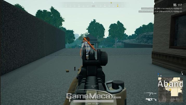 1초라도 먼저 총을 장전해야 초반 교전에서 승리할 수 있다 (사진: 게임메카 촬영)