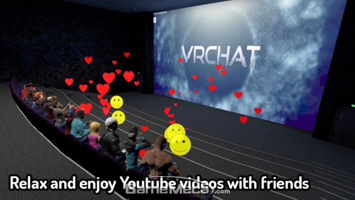 ▲ 친구들과 함께 또는 나홀로 극장에 전세 내고 영상도 볼 수 있다 (사진출처: 스팀 공식 페이지)