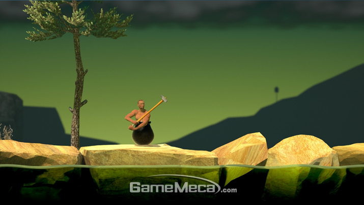태초마을 하이~! 절대 긴장을 놓아선 안되는 '게팅 오버 잇' (사진출처: 게임 공식 웹사이트)