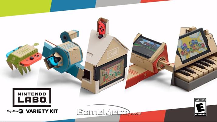 총 5개의 토이콘을 제작할 수 있는 버라이어트 팩 (사진출처: 게임 공식 웹사이트)