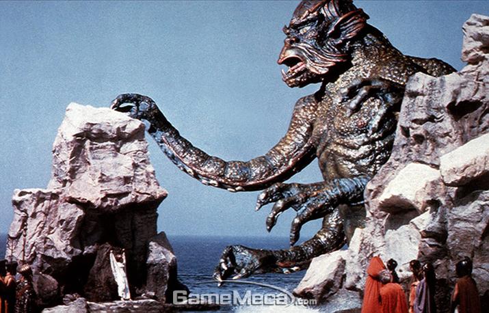 '갓 오브 워'에 깊은 영감을 준 영화 '타이탄 족의 멸망' (사진출처: 네이버 영화 채널)