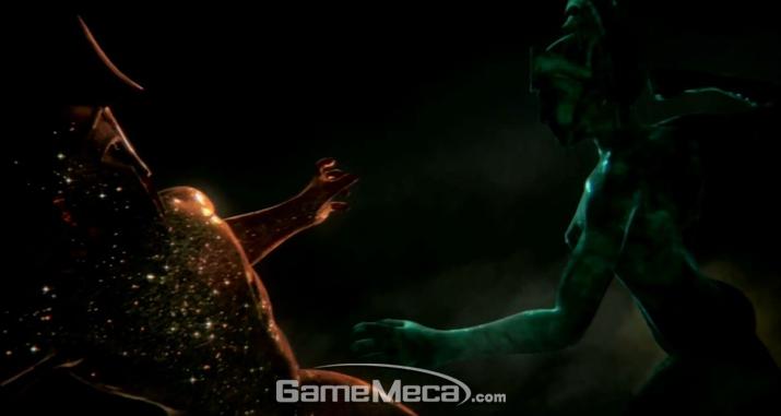 태초의 신들이 벌인 싸움으로 '갓 오브 워' 세계가 창조됐다 (사진출처: '갓 오브 워: 어센션' 게임 영상 갈무리)