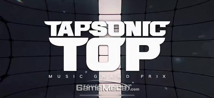 ▲ '탭소닉TOP' 메인화면 (사진: 게임메카 촬영)