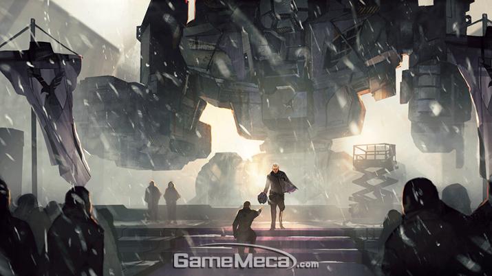 '배틀테크' 조종 장비 '뉴로헬멧'을 하사 받는 '맥워리어' (사진출처: '배틀테크' 공식 홈페이지)
