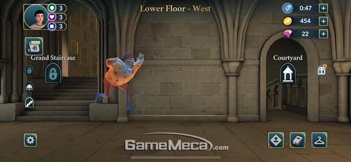 연회장 앞에선 언제나 유령이 춤을 추고 있다 (사진: 게임메카 촬영)