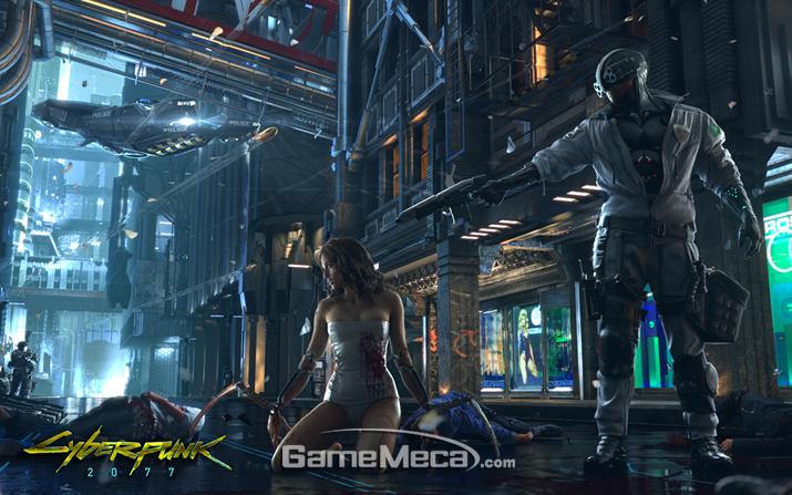 과연 '사이버펑크 2077'은 E3 2018에서 데뷔무대를 가질 수 있을까? (사진출처: 게임 공식 홈페이지)