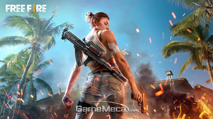 '프리 파이어' 대표 이미지 (사진출처: 게임 공식 웹사이트)