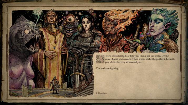 '필라스 오브 이터니티 2: 데드 파이어'에서 묘사된 '에오라'의 신들 (사진출처: 위키피디아)