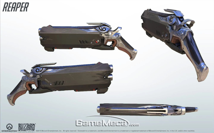 리퍼의 헬파이어 샷건 (사진출처: 게임 공식 웹사이트)