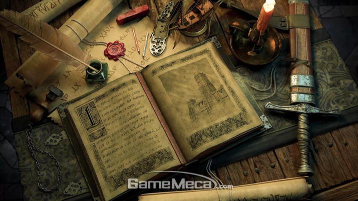 '필라스 오브 이터니티 2'는 그 매력적인 스토리를 세밀하게 전달하지 못한 작품이다 (사진: 게임메카 촬영)