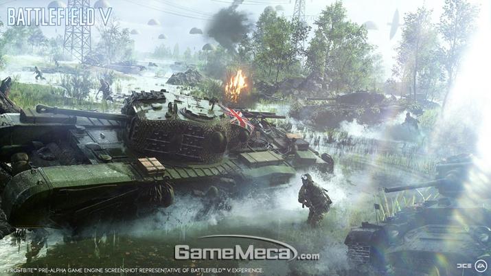 '배틀필드 5'의 제작진이 PC 논란을 더욱 크게 만들고 있다 (사진출처: 게임 공식 홈페이지)