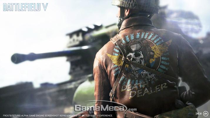 '배틀필드 V' 대표 이미지 (사진출처: 게임 공식 웹사이트)