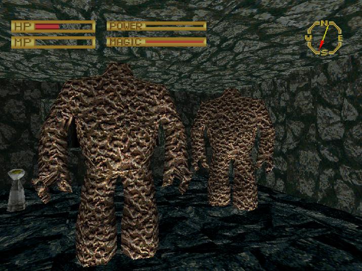 고전 던전 탐사 RPG 감수성이 물씬 풍기는 '킹스 필드' (사진출처: 위키피디아)