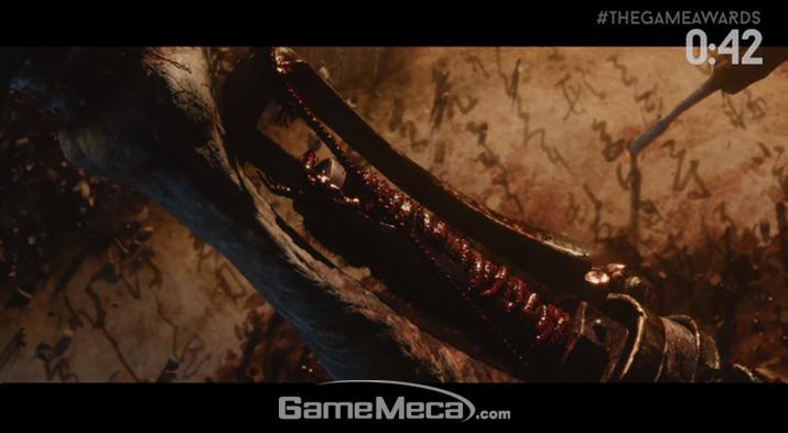 2017 '더 게임 어워드'에 공개된 프롬소프트웨어 신작 이미지 (사진출처: 생중계 영상 갈무리)