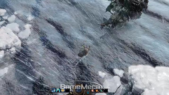 항해 중에 유령선을 만날 수도 있다 (사진출처: 게임 공식 홈페이지)