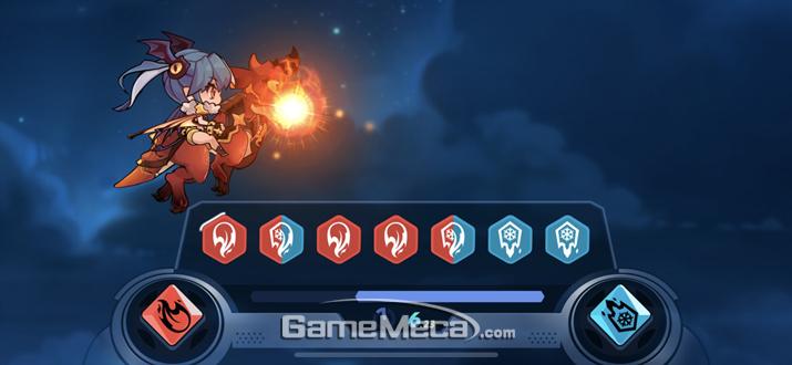 아예 새로운 형태의 미니게임으로 보스전이 진행되기도 한다 (사진: 게임메카 촬영)