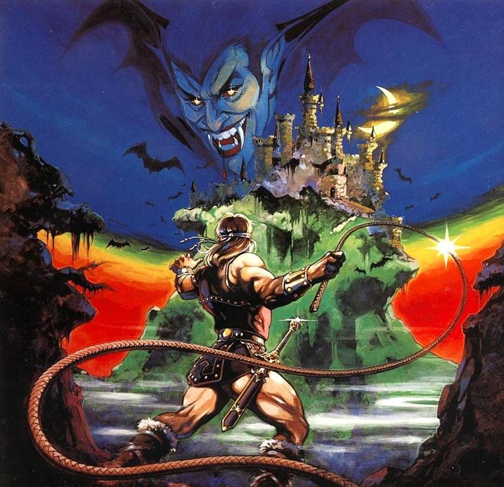 '악마성 드라큘라' 북미 버전 커버 아트 (사진출처: 위키피디아)