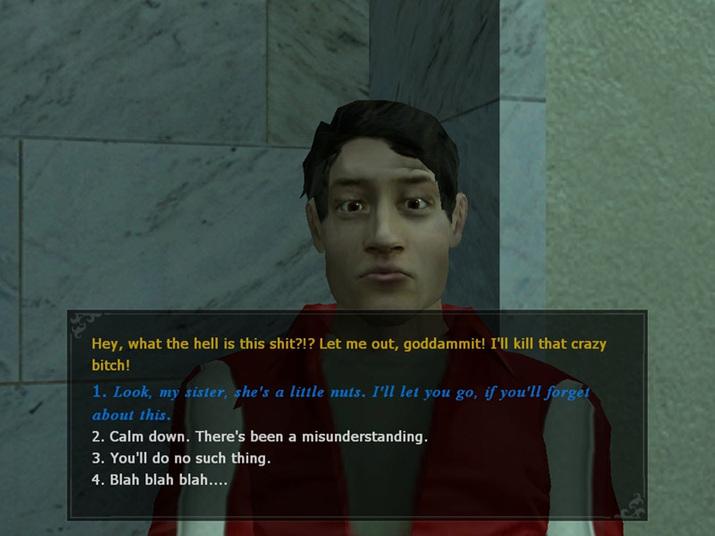 '뱀파이어 더 마스커레이드: 블러드라인'에서는 '인간성' 수치에 따라 대화 선택지가 바뀌기도 했다 (사진출처: 위키피디아)