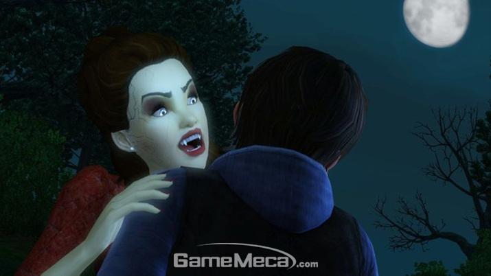 '뱀파이어가 된 당신, 마을에서 어떻게 살아갈 것인가?' 하는 질문을 던지는 '심즈 4' 뱀파이어 확장팩 (사진출처: '심즈 4' 공식 블로그)