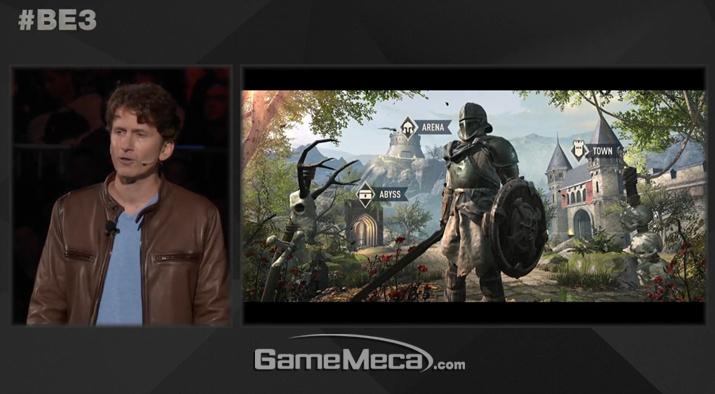 베데스다가 기대작 '엘더스크롤 6'의 E3 2019 불참을 발표했다 (사진출처: E3 2018 베데스다 쇼케이스 갈무리)