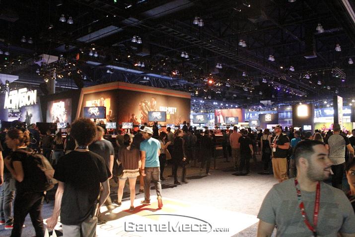 'E3 2018' 현장의 생생한 모습을 기대하시라! (사진: 게임메카 촬영)