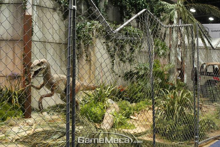 마지막은 공룡이 막 돌아다니는 '쥬라기 공원'