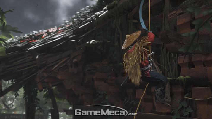 전통적인 사무라이였지만 몽골에 맞서 새로운 전투 방법을 찾은 '진' (사진제공: SIE)