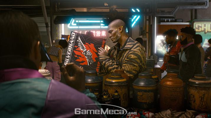 베일에 싸여 잇던 '사이버펑크 2077'은 어떤 게임일까? (사진제공: CD프로젝트레드)