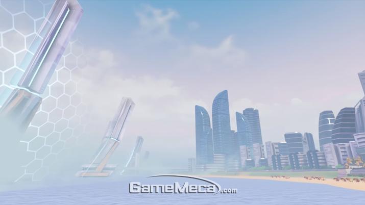 조슈아 엘 로렌타가 제작한 '오버워치' 부산 전장 이미지 (사진출처: 부산 전장 소개 영상 갈무리)