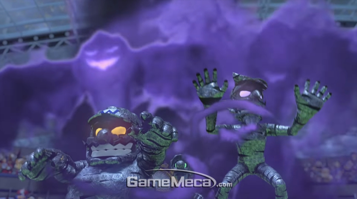 와리오 와루이지와 함께 악의 기운에 취해 폭주하게 된다 (사진출처: 게임 공식 홈페이지)