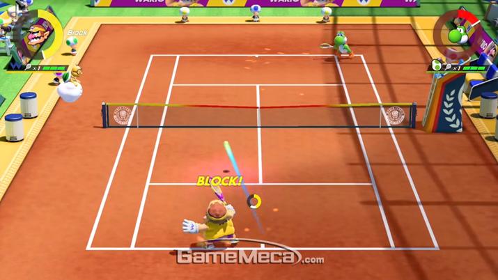 정확한 타이밍에 방어를 해내면 '블록'과 함께 아무런 피해를 입지 않지만 (사진출처: 게임 공식 홈페이지)