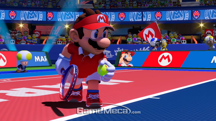 '마리오 테니스 에이스'가 명작 테니스 게임으로 남을 수 있을지 지켜보자 (사진출처: 게임 공식 홈페이지)