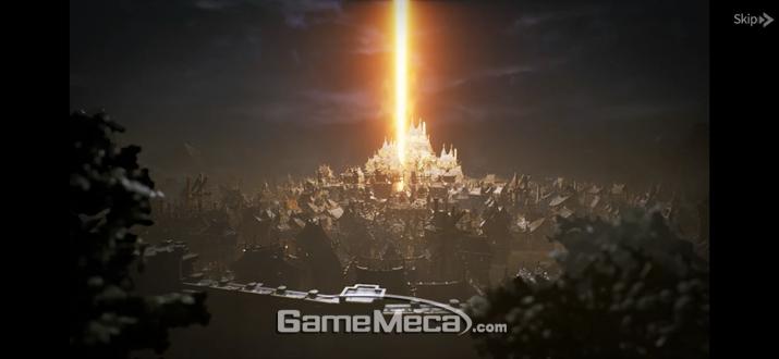 '블레이드 2'는 전작에서 100년이 지난 시점을 배경으로 시작한다 (사진: 게임메카 촬영)