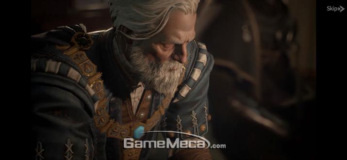 굉장한 그래픽의 CG 영상과 (사진: 게임메카 촬영)