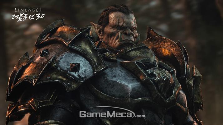 '오크' 캐릭터를 고르면 180레벨부터 시작할 수 있다 (사진출처: 게임 공식 홈페이지)