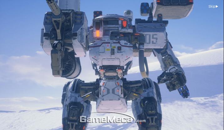 디테일의 끝판왕을 보여줬던 거대 로봇 (사진: 게임메카 촬영)