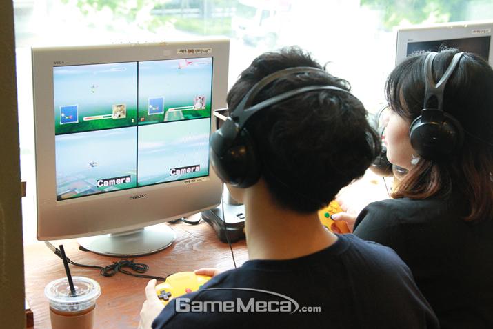 국내에는 해본 사람이 몇 안되는 '스타폭스 64' (사진: 게임메카 촬영)