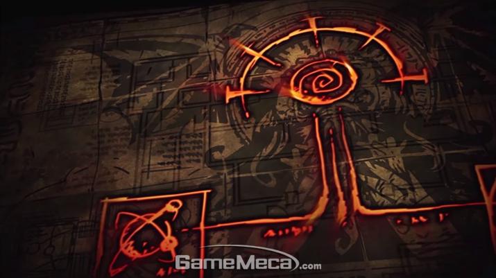 저택 지하 유적의 구조를 안 것도 마술 지식 덕분이었다 (사진출처: 공식 유튜브 영상 갈무리)