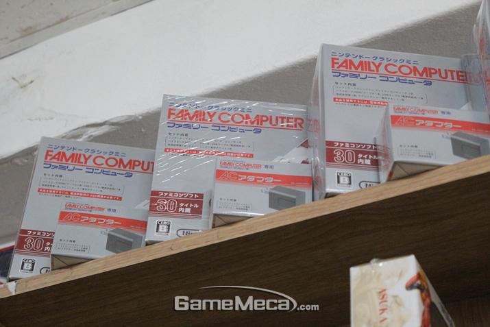 최근 발매된 패미컴 미니 (사진: 게임메카 촬영)