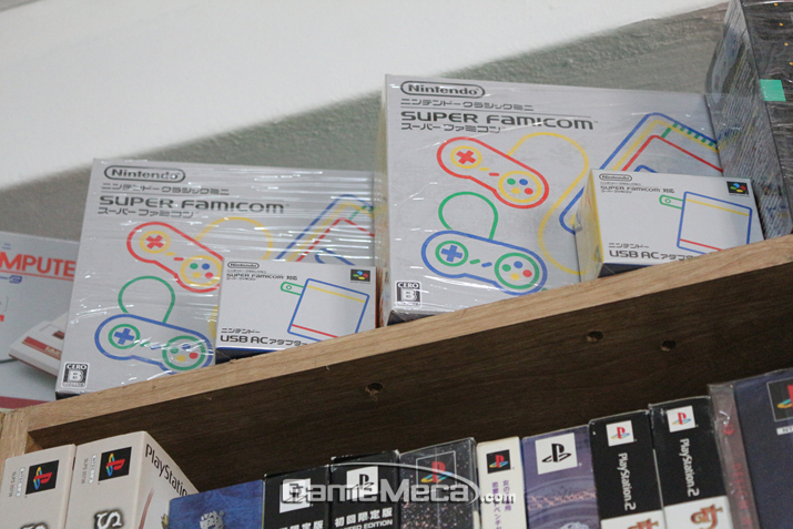 더 최근 발매된 닌텐도 슈퍼 패미컴 미니