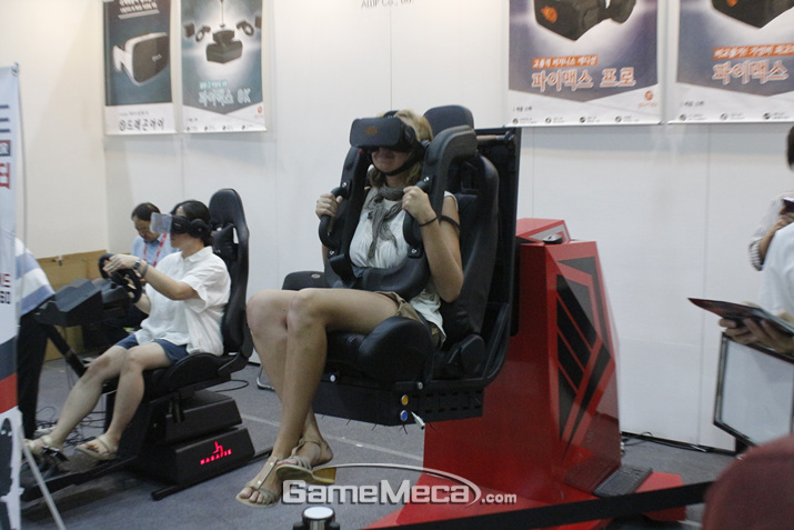 처음엔 별거 아니라고 생각했던 VR 어트랙션 (사진: 게임메카 촬영)