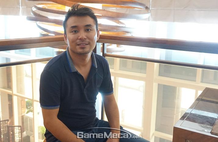 중국 가이아모바일의 글래비스 양 COO (사진: 게임메카 촬영)