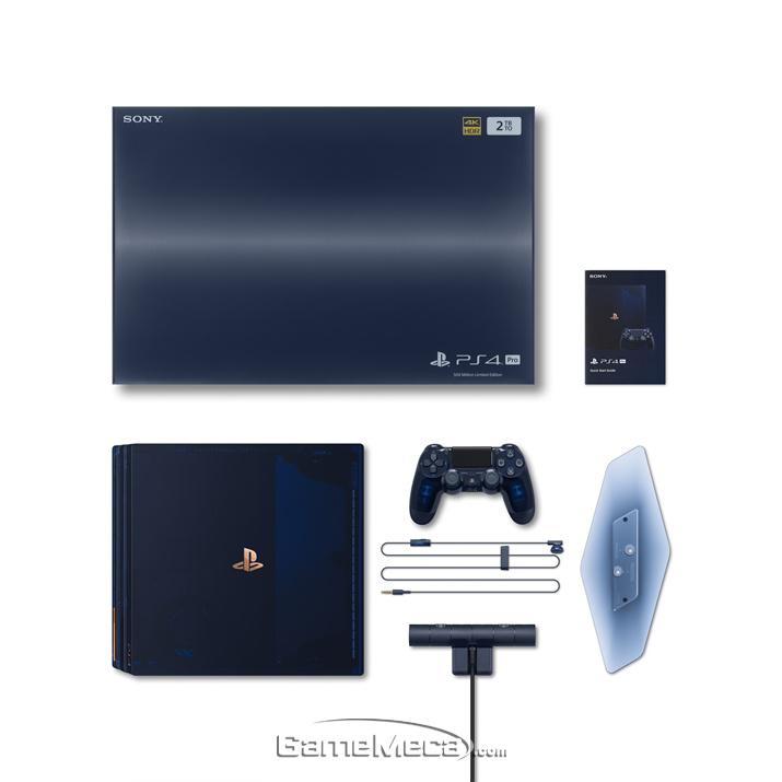 PS4 Pro 500 밀리언 리미티드 에디션