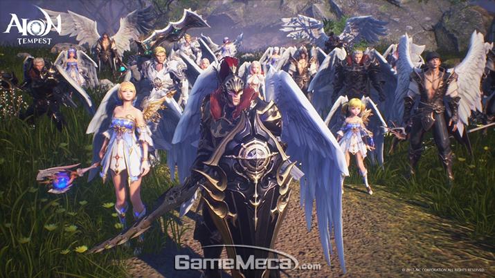 엔씨소프트가 개발 중인 '아이온' 모바일게임 '아이온 템페스트' (사진제공: 엔씨소프트)
