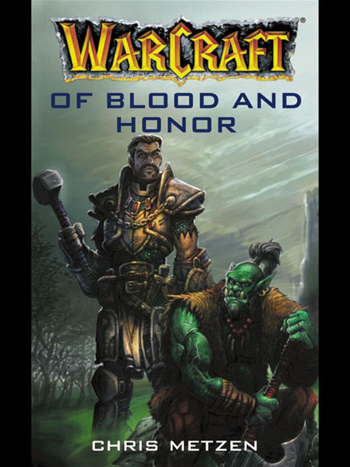 '용감하고 명예로운 오크'를 그린 첫 '워크래프트' 소설 '피와 명예로' (사진출처: 아마존)