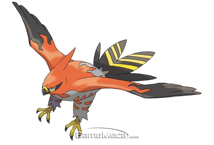 이 새는 해로운 새가 맞습니다 (사진출처: 포켓몬 위키)