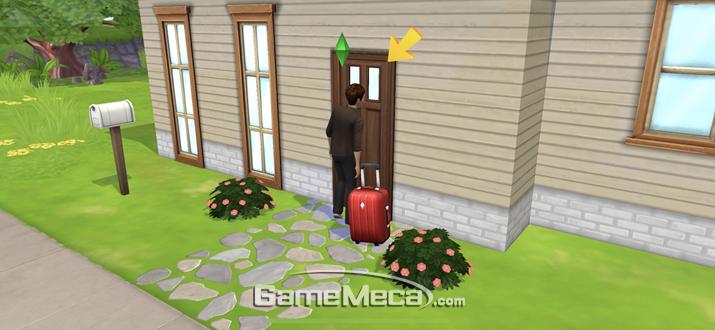 이 집을 완연한 내 집으로 만드는 것이 게임의 목표다 (사진: 게임메카 촬영)