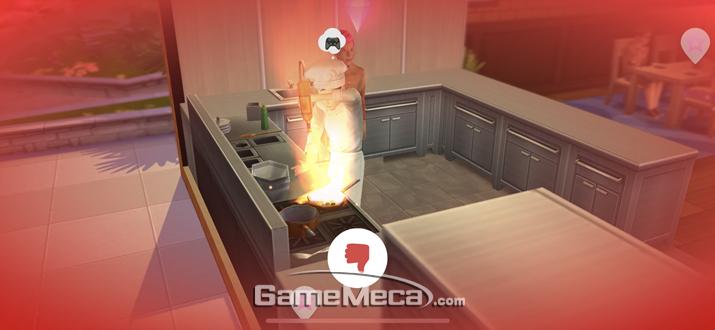 레벨업을 통해 요리사가 개방된다 (사진: 게임메카 촬영)
